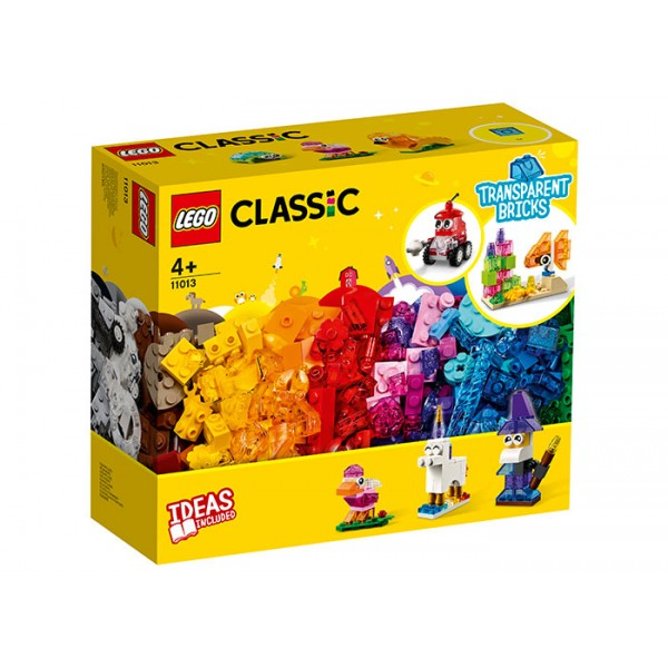 LEGO Classic Caramizi transparente
