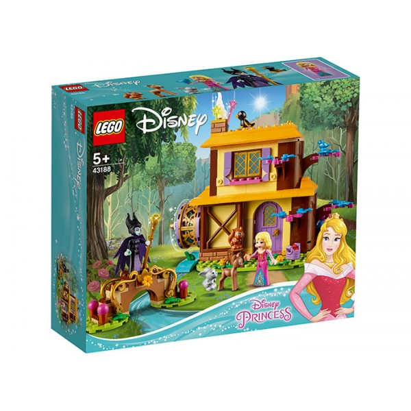 LEGO Disney Princess Casuta din padure a Aurorei  No. 43188