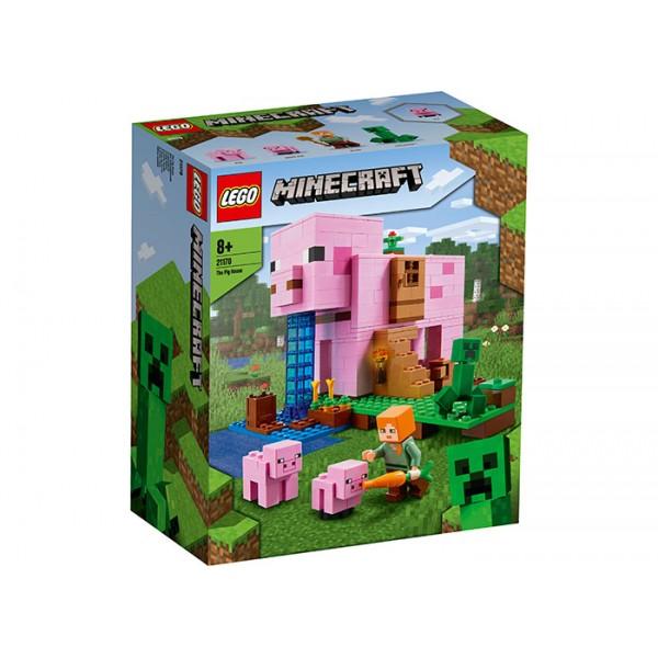 LEGO Minecraft Casuta purcelus
