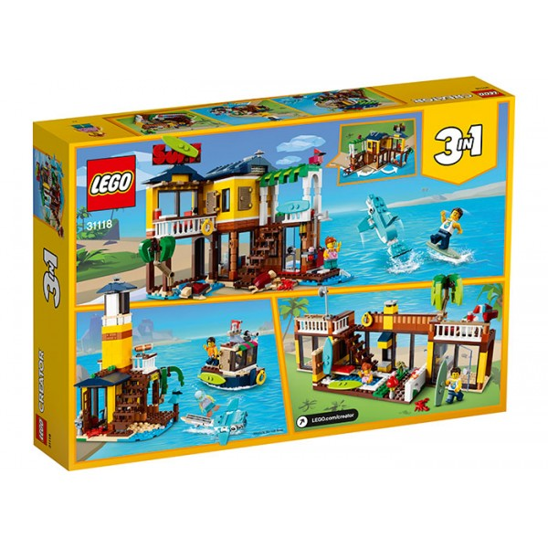LEGO Creator Casuta surferilor
