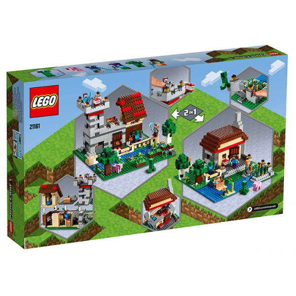 LEGO Minecraft Cutie de crafting 3.0  No. 21161