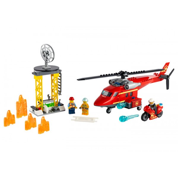 LEGO City Elicopter de pompieri