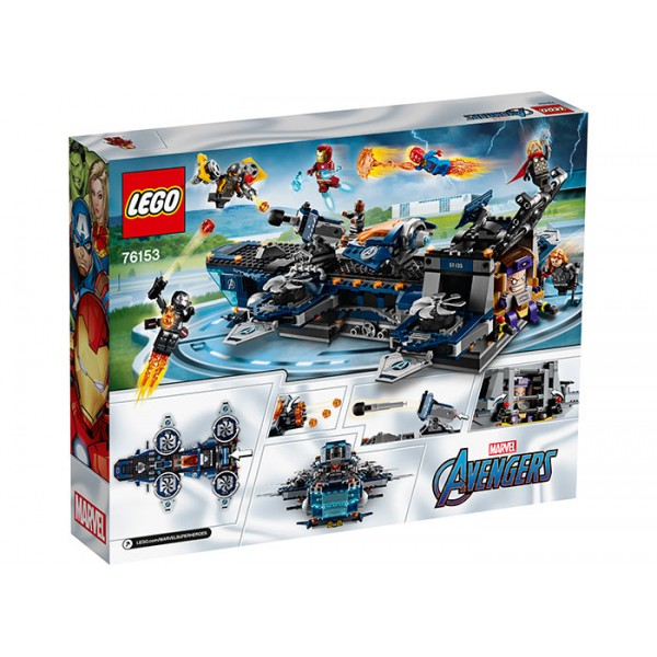 LEGO Marvel Super Heroes Elicopter de transport al Razbunatorilor  No. 76153