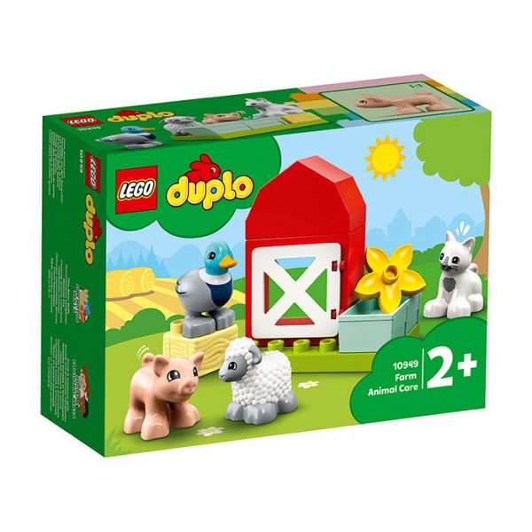 LEGO DUPLO Ingrijirea animalelor de la ferma