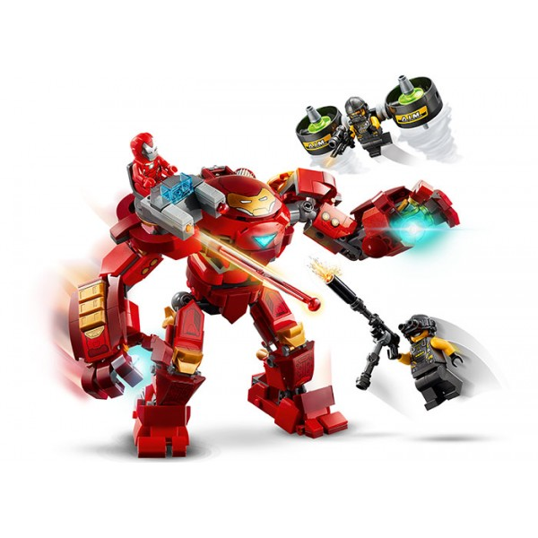 LEGO Marvel Super Heroes Iron Man Hulkbuster contra AIM. Agent  No. 76164