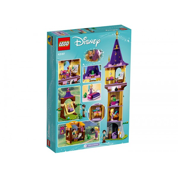 LEGO Disney Princess Turnul lui Rapunzel  No. 43187