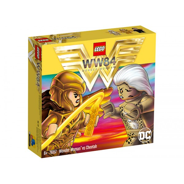 LEGO DC Super Heroes Wonder Woman vs Cheetah  No. 76157
