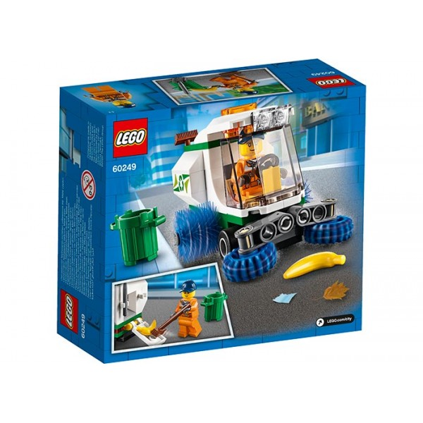 LEGO City Masina de maturat strada  No. 60249