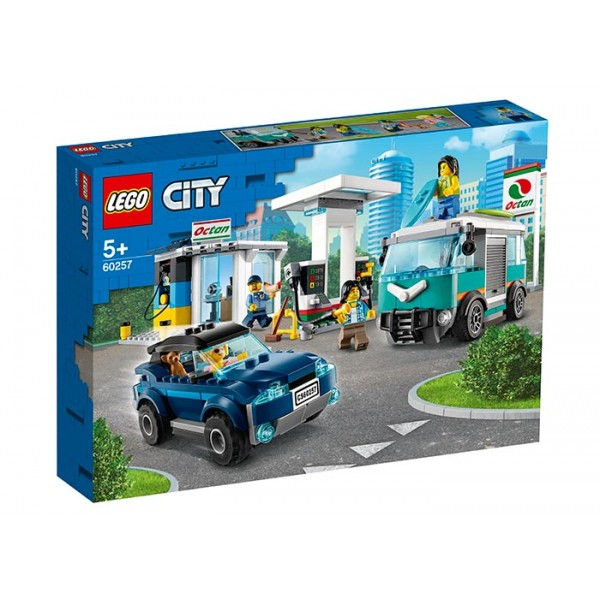 LEGO City Statie de service  No. 60257