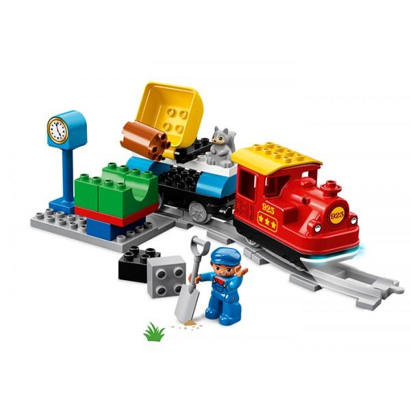 LEGO DUPLO Tren cu aburi  No. 10874