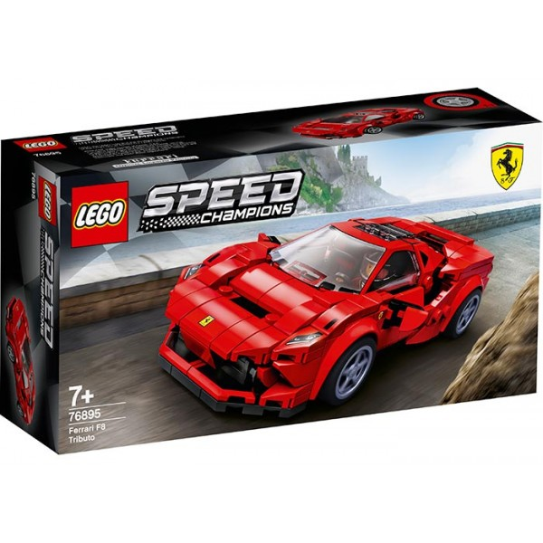 LEGO Speed Champions Ferarri F8 Tributo   No. 76895