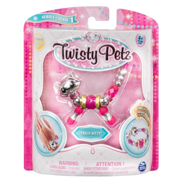 TWISTY PETZ BRATARA ANIMALUT PENTRU COLECTIONAT PISICUTA FRILLY KITTY