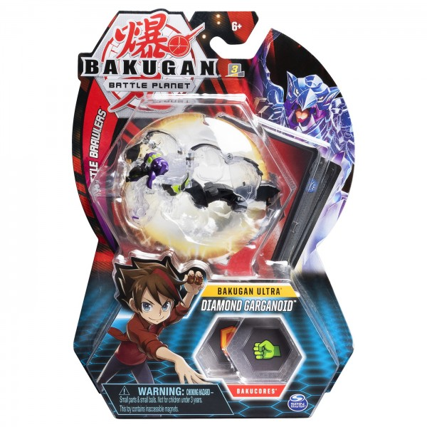 BAKUGAN BILA ULTRA DIAMOND GARGANOID