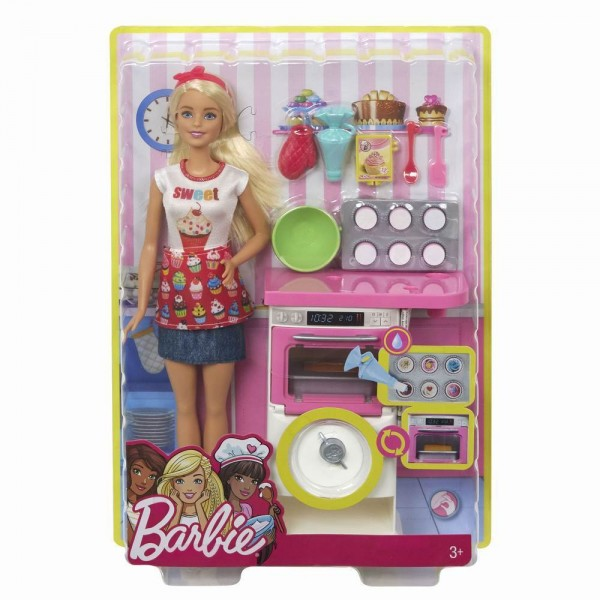 PAPUSA BARBIE IN BUCATARIE