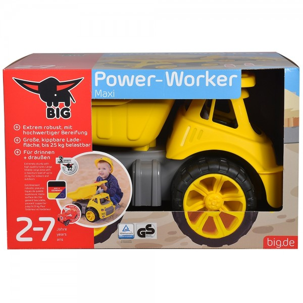 Camion basculant Big Power Worker Maxi Truck