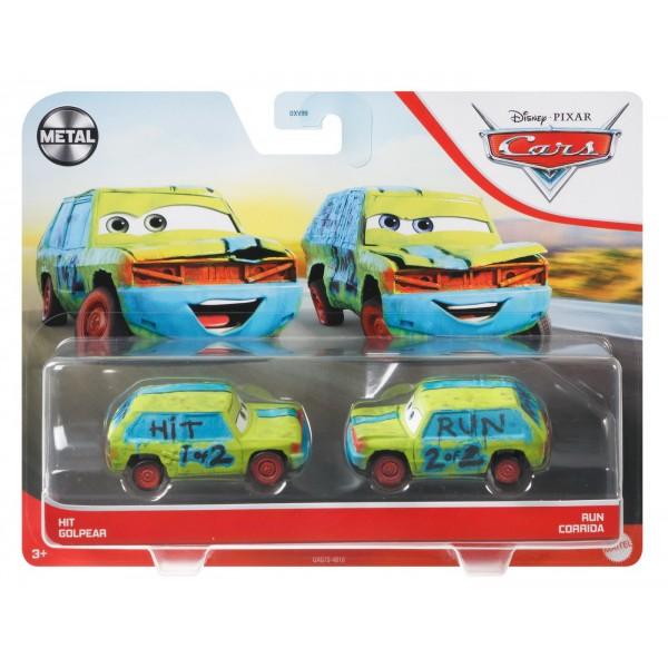CARS3 SET 2 MASINUTE METALICE HIT GOLPEAR SI RUN CORRIDA
