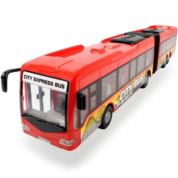 Autobuz Dickie Toys City Express Bus rosu