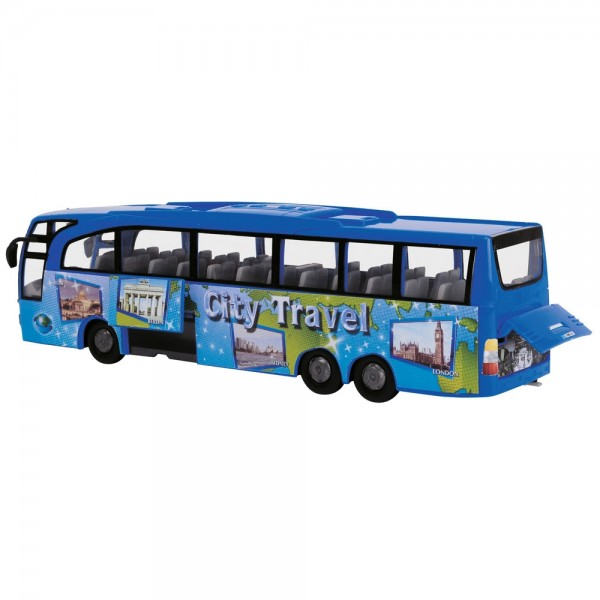 Autobuz Dickie Toys Touring Bus albastru