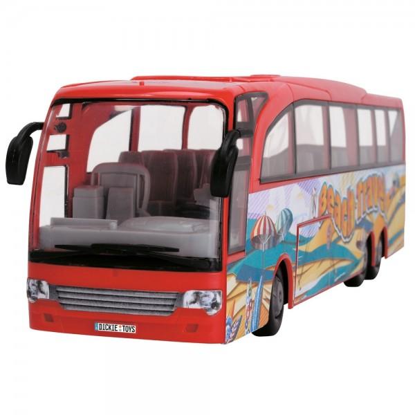 Autobuz Dickie Toys Touring Bus rosu