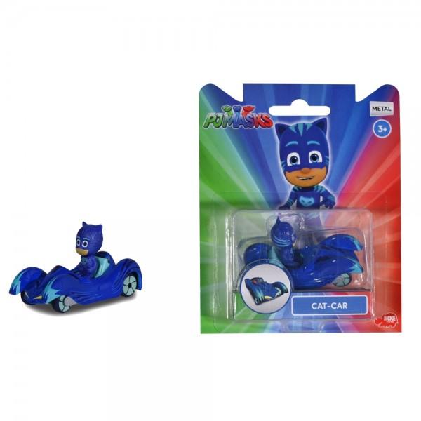 Masina Dickie Toys Eroi in Pijama Cat-Car cu figurina