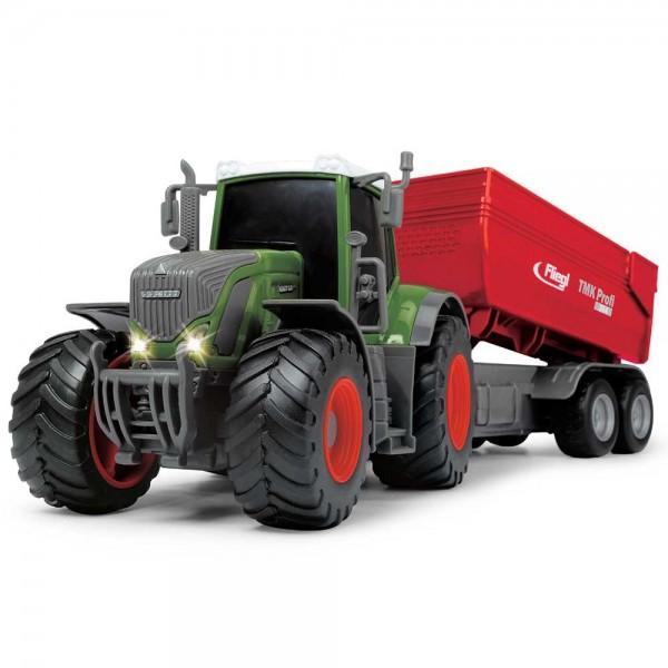 Tractor Dickie Toys Fendt 939 Vario cu remorca 41 cm