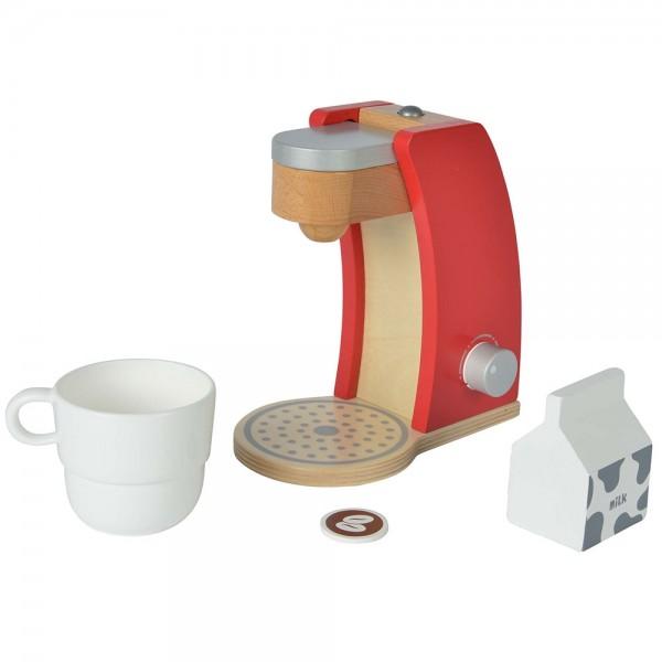 Jucarie din lemn Eichhorn Coffee Machine