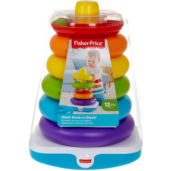 FISHER PRICE CONSTRUIESTE PIRAMIDA URIASA