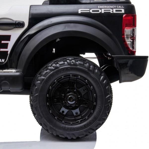 Mașinuță electrică  cu telecomandă Ford Raptor Police Edition