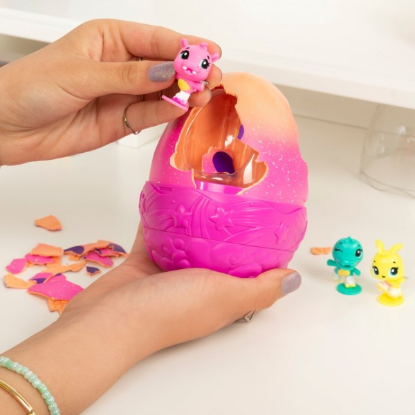 HATCHIMALS SET CU COMPARTIMENTE SECRETE