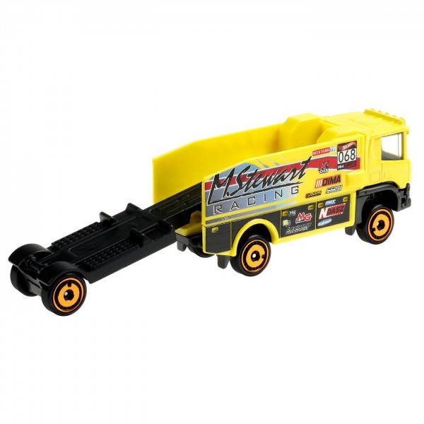 HOT WHEELS CAMION SCANIA RALLY TRUCK
