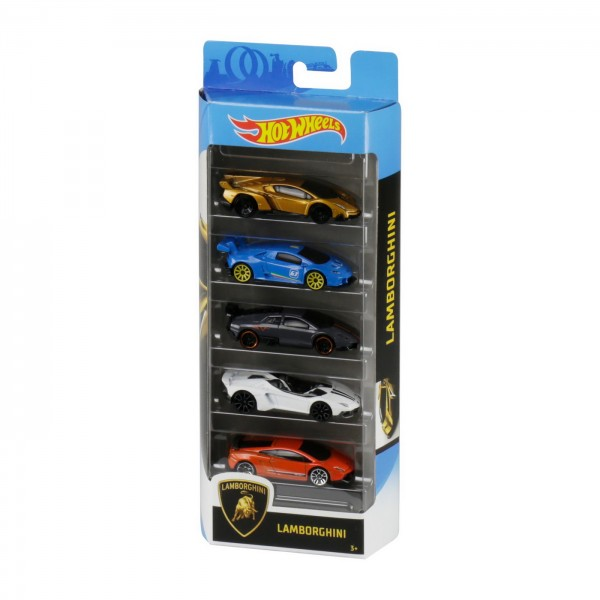 SET 5 MASINI HOT WHEELS LAMBORGHINI