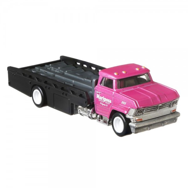 Camion Hot Wheels by Mattel Car Culture Horizon Hauler cu masina Dodge Dart