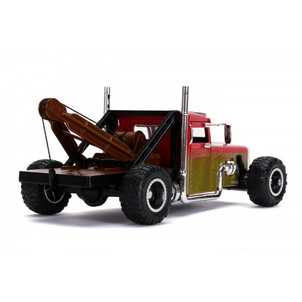 CAMION METALIC FAST AND FURIOUS HOBBS AND SHAW TRUCK SCARA 1:24