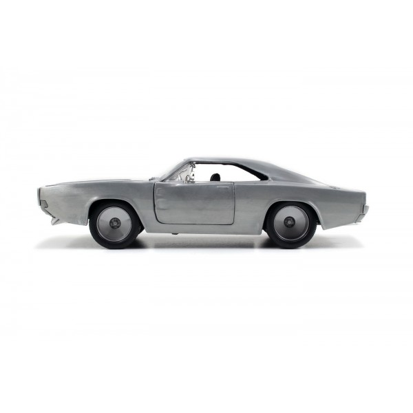 MASINUTA FAST AND FURIOUS 1968 DOM'S DODGE CHARGER SCARA 1:24