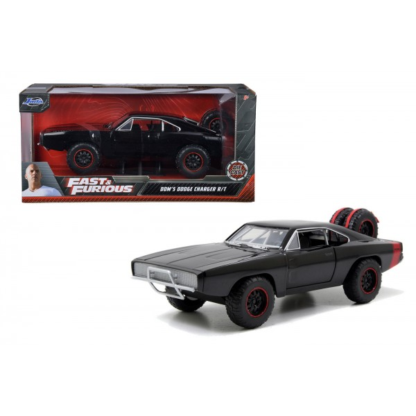 MASINUTA FAST AND FURIOUS 1970 DOM'S DODGE CHARGER SCARA 1:24