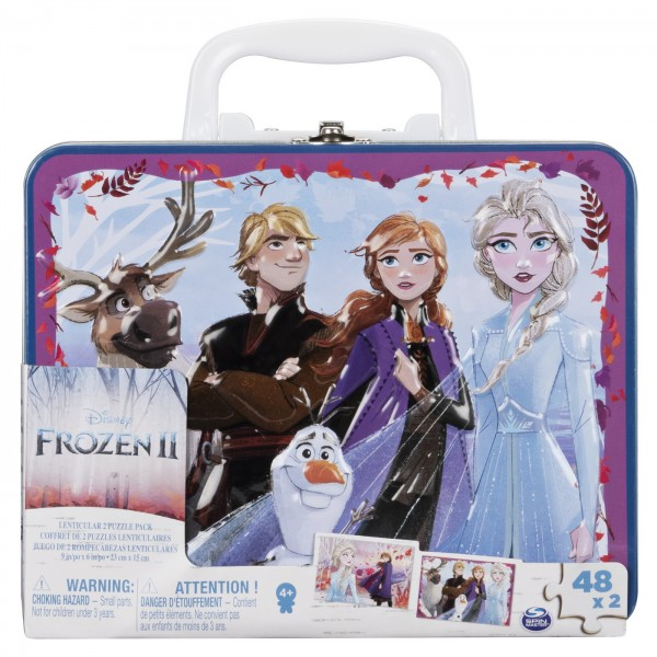 SET 2 PUZZLE-URI FROZEN2 IN GENTUTA METALICA