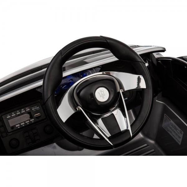 Masinuta electrica  cu telecomanda Maserati Alfieri negru