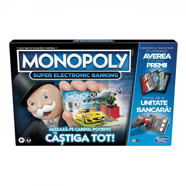 MONOPOLY SUPER ELECTRONIC BANKING - CASTIGA TOT