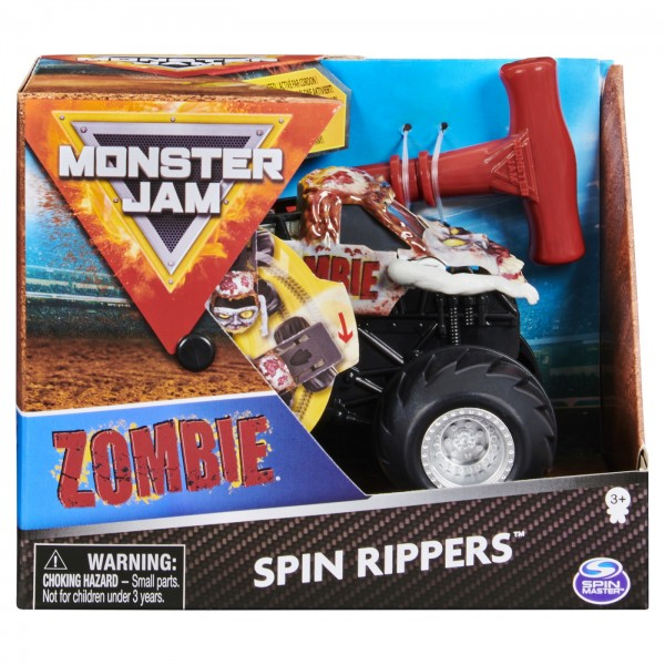 MONSTER JAM ZOMBIE SERIA SPIN RIPPERS SCARA 1 LA 43