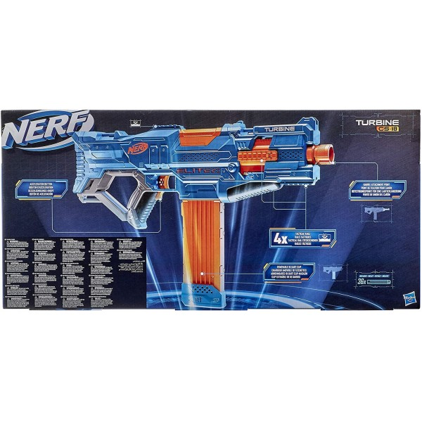 NERF BLASTER ELITE 2.0 TURBINE CS-18