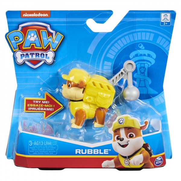 PATRULA CATELUSILOR FIGURINA RUBBLE CONSTRUCTORUL