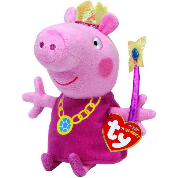 PLUS TY 15CM PEPPA PIG PRINTESA