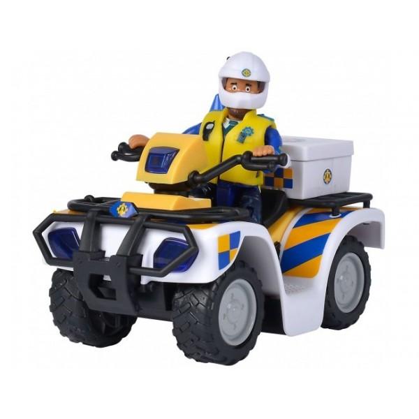 SAM POLICE ATV FIGURINA