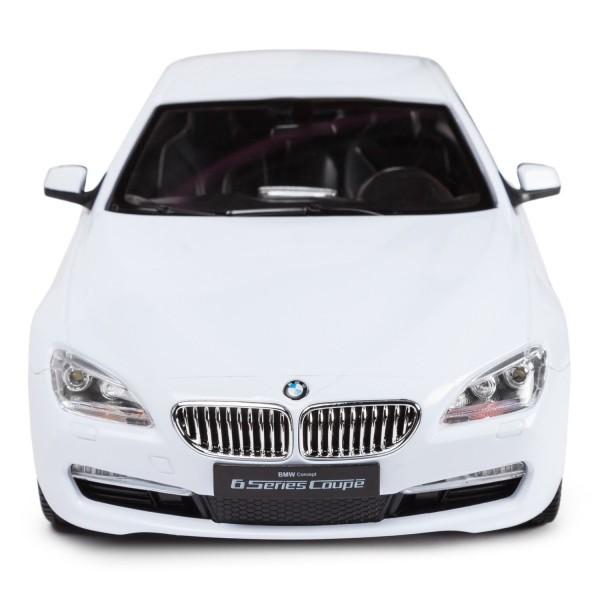 MASINA CU TELECOMANDA BMW SERIA 6 ALB CU SCARA 1 LA 14