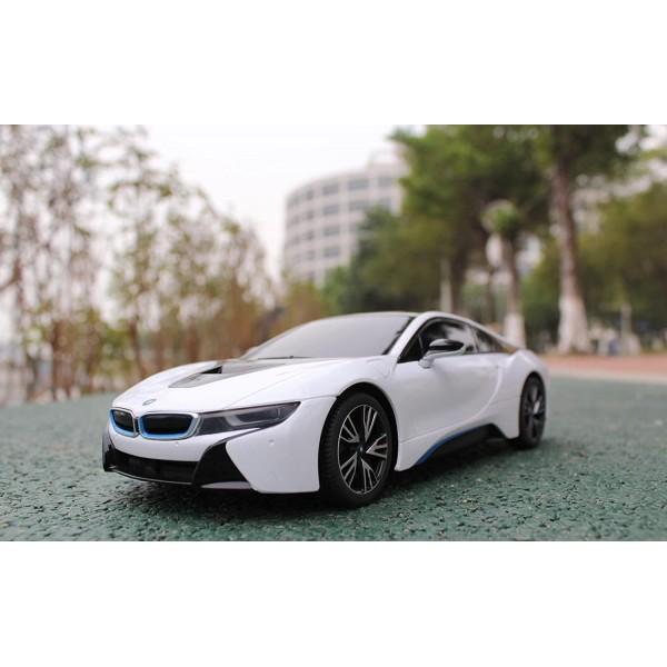 MASINA CU TELECOMANDA BMW i8 SCARA 1 LA 18