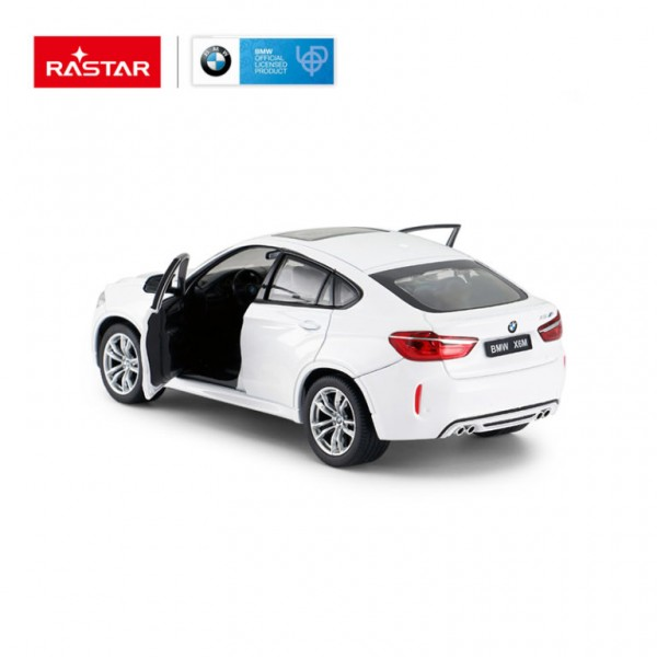 MASINUTA METALICA BMW X6M ALB SCARA 1 LA 24
