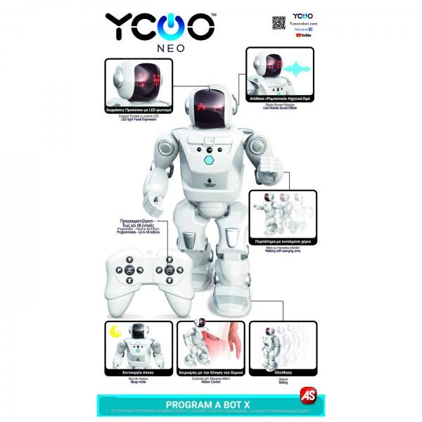 ROBOT ELECTRONIC CU RADIOCOMANDA PRΟGRAMM A BOT X