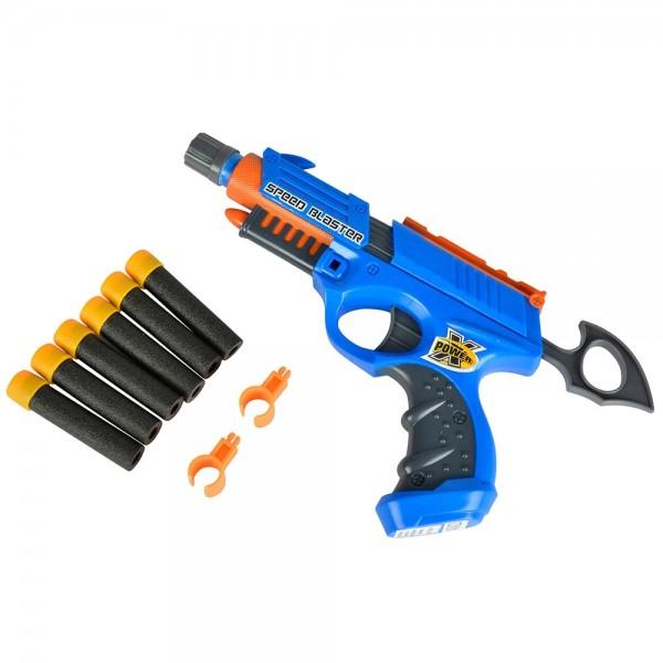 Jucarie Simba Pistol X-Power Speed Blaster cu 6 proiectile