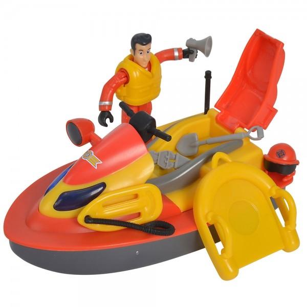 Jet Sky Simba Fireman Sam Juno cu figurina si accesorii