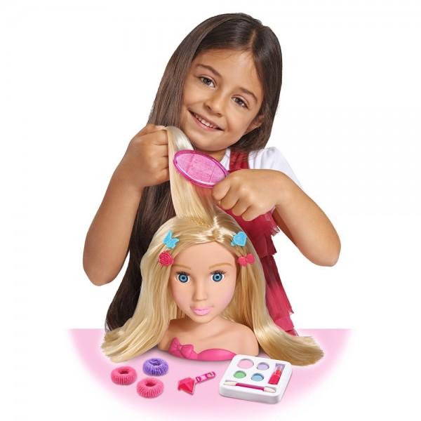 Bust papusa Simba My Girl Styling Head cu accesorii